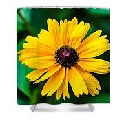 Yellow Flower - Featured 3 Shower Curtain