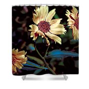 Yellow Flower Viii Shower Curtain
