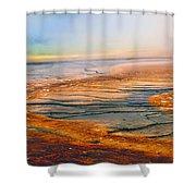 Yellowstone 18 Shower Curtain