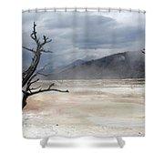 Yellowstone 21 Shower Curtain