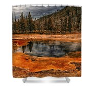 Yellowstone 3 Shower Curtain