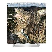 Yellowstone Canyon Shower Curtain