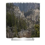 Yellowstone Grand Canyon Shower Curtain