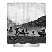 Yellowstone Kelly 1 Shower Curtain