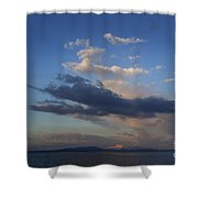 Yellowstone Lake   #1876 Shower Curtain
