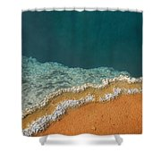 Yellowstone National Park - Hot Spring Shower Curtain
