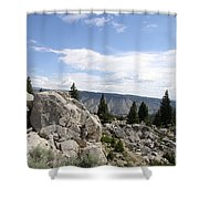 Yellowstone N P Landscape Shower Curtain