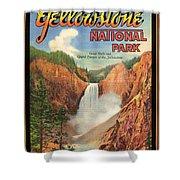 Yellowstone Park Shower Curtain