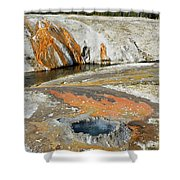 Yellowstone Small Crested Pool Shower Curtain