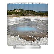 Yellowstone The Pearl Shower Curtain