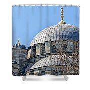 Yeni Cammii Mosque 03 Shower Curtain