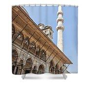 Yeni Cammii Mosque 11 Shower Curtain