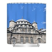 Yeni Cammii Mosque 12 Shower Curtain