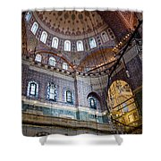 Yeni Valide  Camii Mosque Istanbul Turkey Shower Curtain