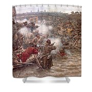 Yermaks Conquest Of Siberia Shower Curtain