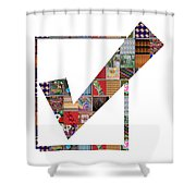 Yes Positive Symbol Showcasing Navinjoshi Gallery Art Icons Buy Faa Products Or Download For Self Pr Shower Curtain