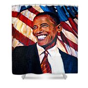 Yes We Can Shower Curtain