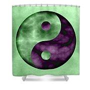 Yinyang 4 Shower Curtain