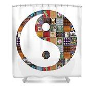 Yinyang Yin Yang Showcasing Navinjoshi Gallery Art Icons Buy Faa Products Or Download For Self Print Shower Curtain