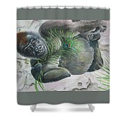 Yoga Exotica Shower Curtain