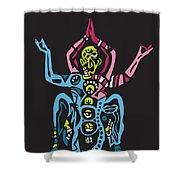 Yogazi Shower Curtain
