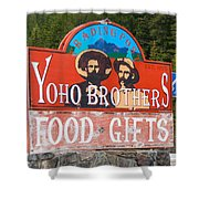 Yoho Brothers Shower Curtain
