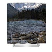Yoho National Park British Columbia Shower Curtain
