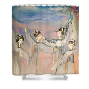 Yonder Beyond Are Your Dreams Shower Curtain