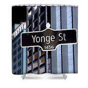 Yonge Street Shower Curtain