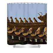 Yonghegong Lama Temple 9482 Shower Curtain