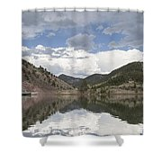 York Bridge Shower Curtain