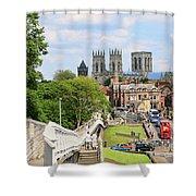 York England 6180 Shower Curtain