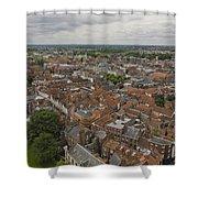 York From York Minster Tower II Shower Curtain