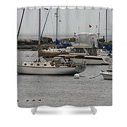 York Harbor Maine Shower Curtain
