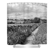 Yorkshire Dales Uk Shower Curtain