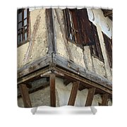 Yoruk Village House Shower Curtain