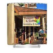 Yosemi Tea Coffee Shop Mariposa California  6935 Shower Curtain