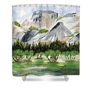 Yosemite 1 Shower Curtain