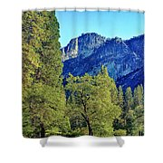 Yosemite Ahwahnee Hotel Courtyard Shower Curtain