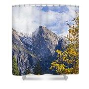 Yosemite Between Seasons Shower Curtain