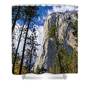 Yosemite In The Fall Shower Curtain