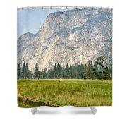 Yosemite Meadow Shower Curtain