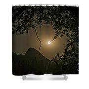 Yosemite Moonrise Shower Curtain