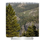 Yosemite Mountain High Shower Curtain