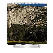 Yosemite Panorama Shower Curtain