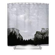 Serenity Of Yosemite Shower Curtain