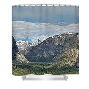 Yosemite Valley Afternoon Shower Curtain