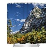 Yosemite Valley Rocks Shower Curtain