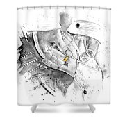 You And Me For Ever Shower Curtain