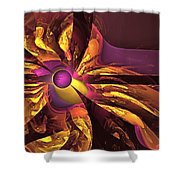 You Are Here --  Events Conspire Shower Curtain